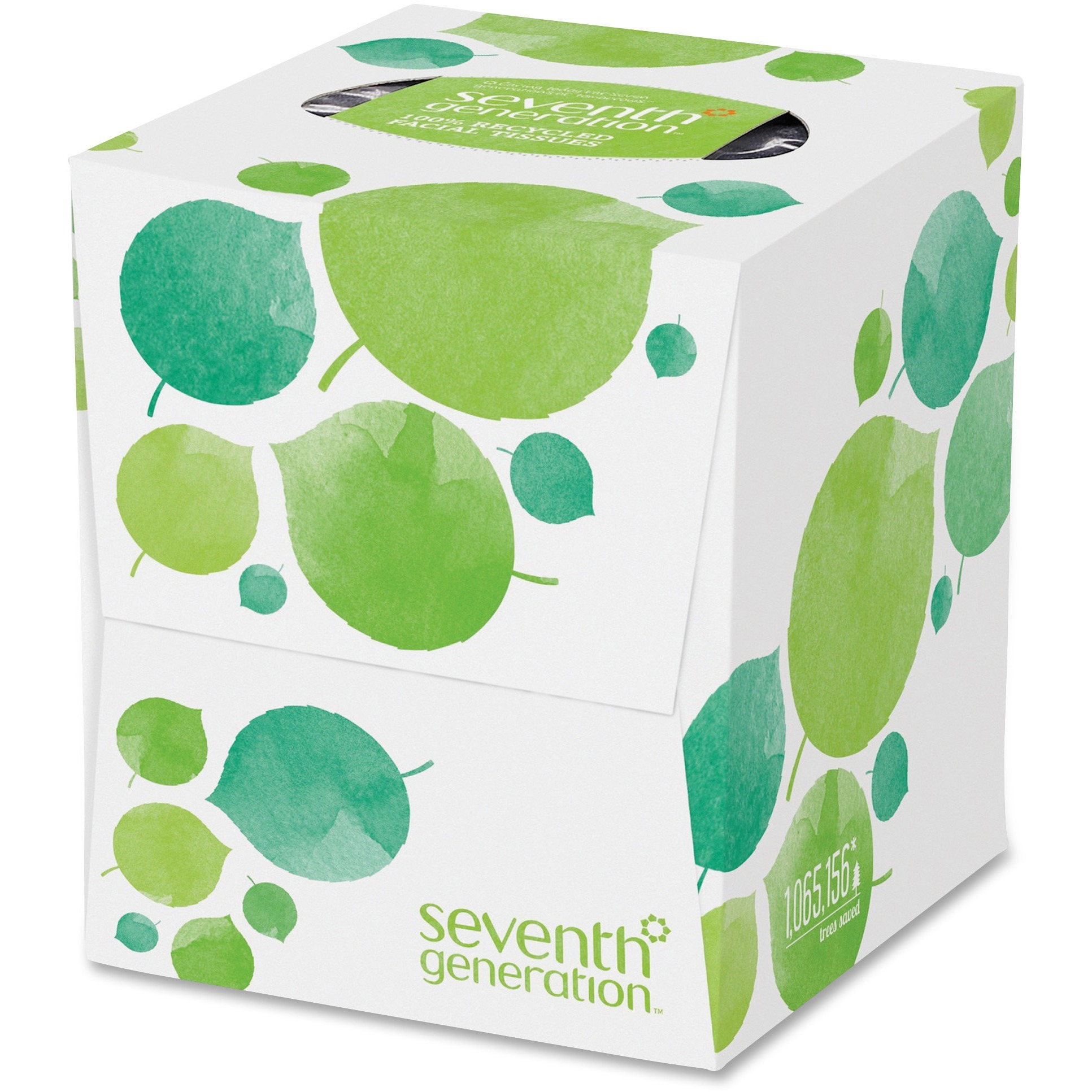 Seventh Generation, SEV13719CT, 2-ply Facial Tissue, 36 / Carton, White