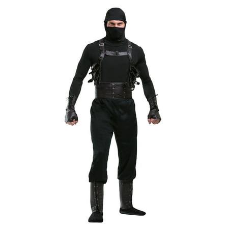 Ninja Assassin Mens Costume - Costumes Lexington Ky