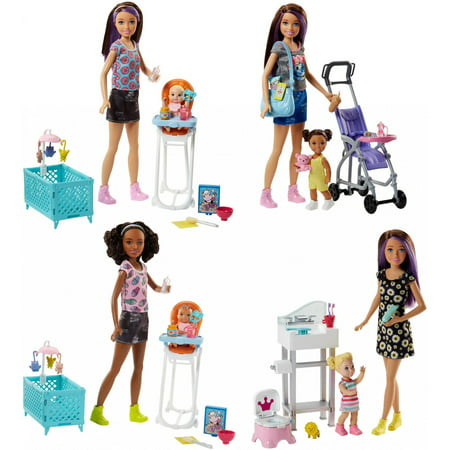 Barbie Skipper Babysitters Inc. Doll and Playset (Styles May Vary)