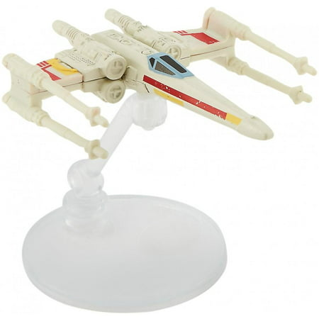 Hot Wheels Star Wars Starships X-Wing Red Three Vehicle
