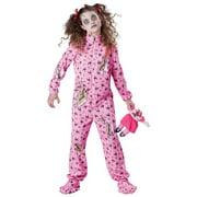 Zombie Girl Child Costume - X-Large