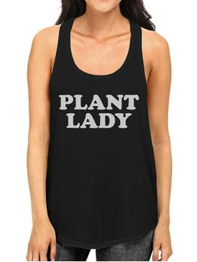 eb819ab1bcc Product Image Plant Lady Women s Black Cotton Unique Design Tank Top For  Ladies