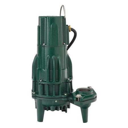 High Head Effluent Pump - ZOELLER N161 Effluent Pump,1/2hp,15.5A