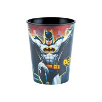 Batman 16oz Party Cup for Birthday - Party Supplies - Licensed Tableware - Licensed Cups - Birthday - 1 Piece