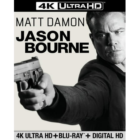 Jason Bourne (4K Ultra HD + Blu-ray + Digital Copy)