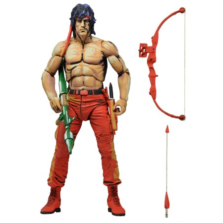 Rambo - First Blood Part II (Video Game) - 7in Action Figure