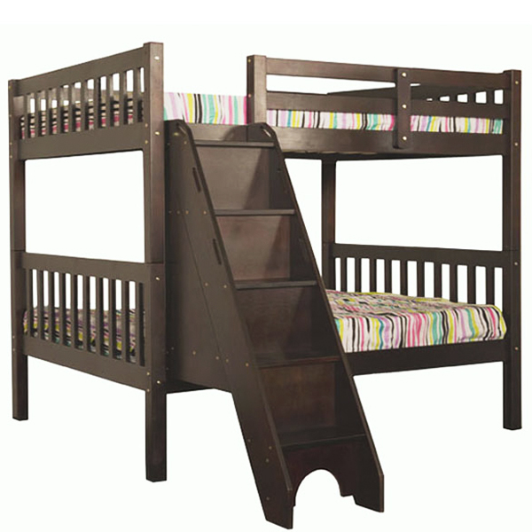 34f57bc11dc3f Stairs Bunk Bed Full over Full with Trundle