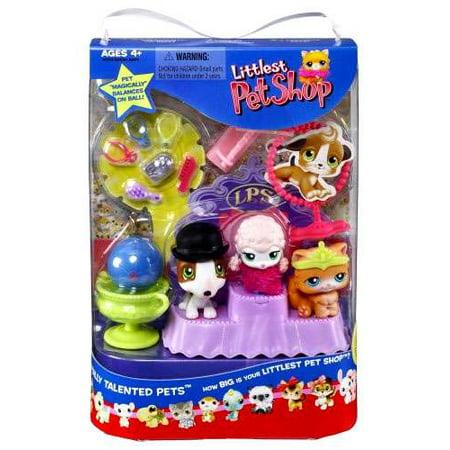 59211233d16c Littlest Pet Shop Best in Show Totally Talented Pets Figure Set