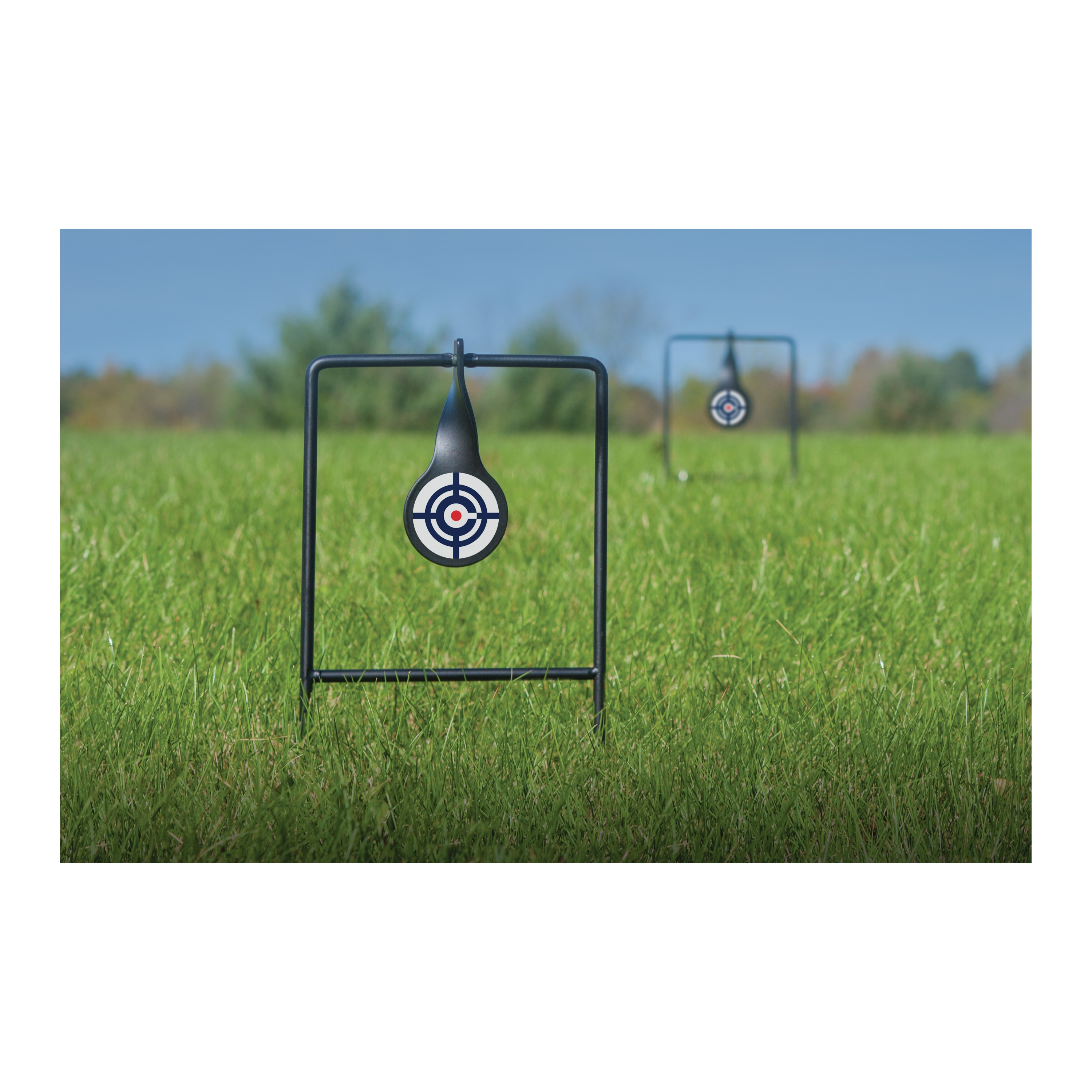 Crosman Logo Dual Spinning Targets Portable 2Targets CS2LT by Crosman