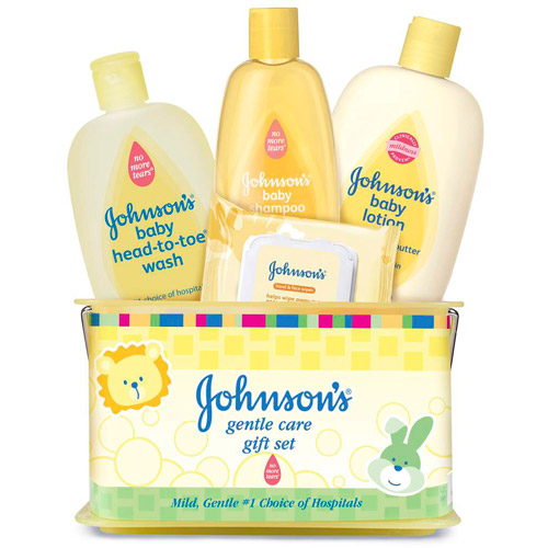 Johnson's Gentle Care Baby Gift Set