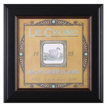 Art Effects Vintage Wine Labels VIII Framed Wall Art