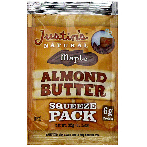 Justin's Maple Almond Butter, 1.15 oz (Pack of 10)