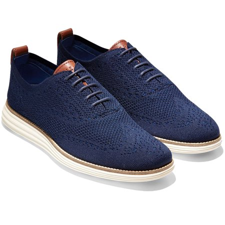 (Cole Haan Mens OriginalGrand Wingtip Oxford with Stitchlite)