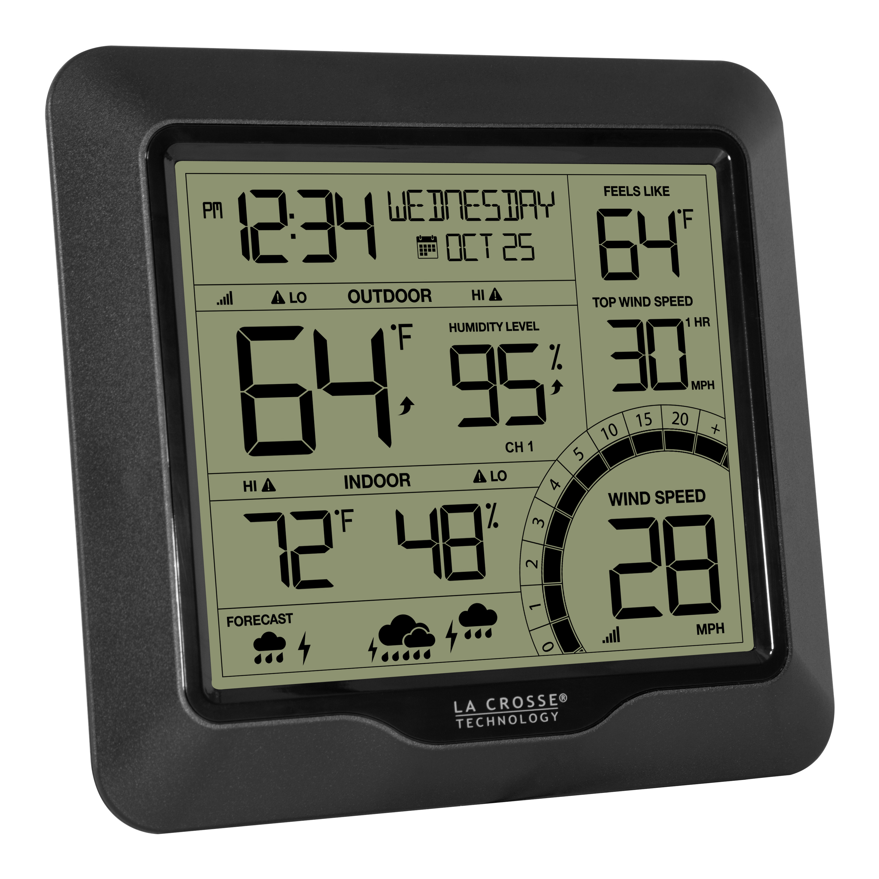 Wall Acurite Pro Color Weather Station With Wind Speed 330 Ft Desktop