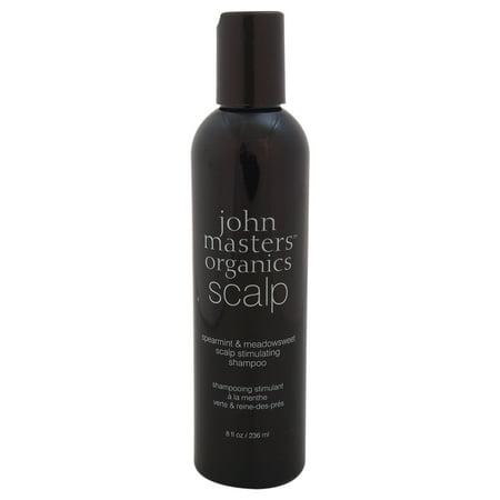 - John Masters Organics Scalp Stimulating Shampoo, Speartmint & Meadowsweet, 8 Fl Oz