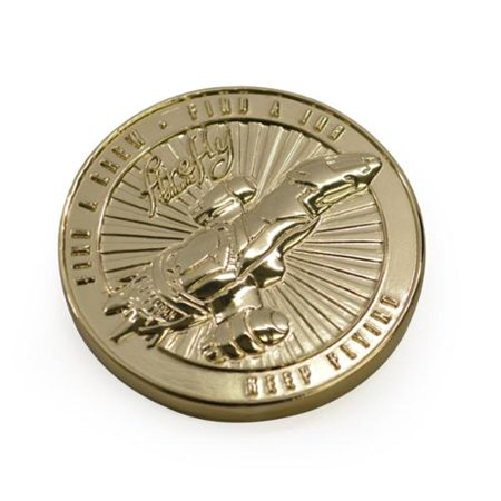 Firefly Online Challenge Coin SDCC 2015 Exclusive Gold Coin