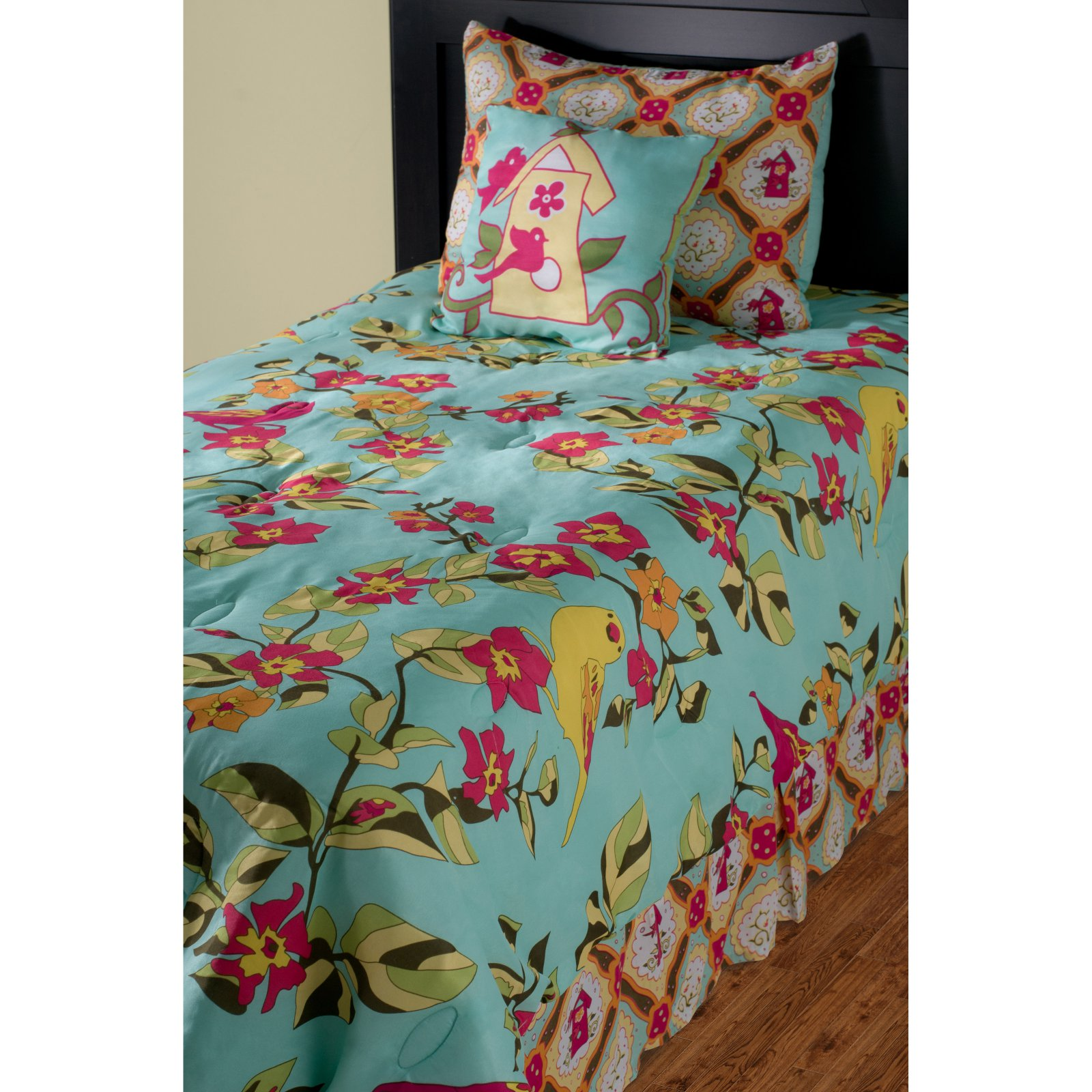 Rizzy Home Birds in Paradise Kids Comforter Bed Set