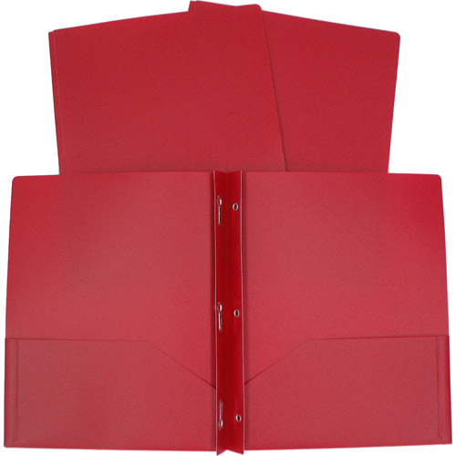 3 Prong Poly Folder Available In Multiple Colors