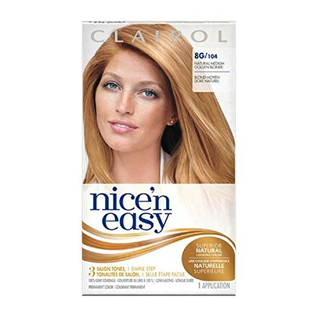 Nice Easy Hair # 104 Size 1 Kit Clairol Nice 'N Easy #104 - image 1 de 1