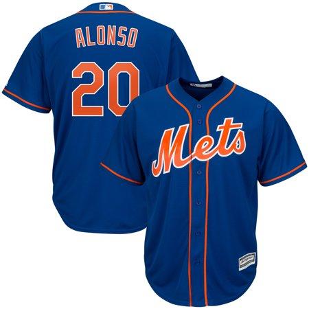 Pete Alonso New York Mets Majestic Alternate Official Cool Base Player Jersey - Royal Pete Maravich Jerseys
