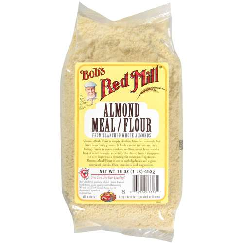 Bob's Red Mill Almond Meal Flour From Blanched Whole Almonds, 16 oz