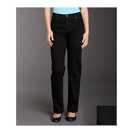 Gloria Vanderbilt AmandaColor Tapered Jeans, Black, 18 Short Best Pair Of Jeans
