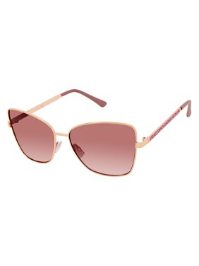 Jessica Simpson Women's Metal Cat-Eye Sunglasses with 100% UV Protection, 60 mm