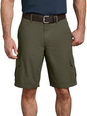 "Dickies Mens 11"" Relaxed Fit Lightweight Ripstop Cargo Short"