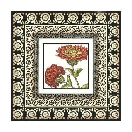 Printed Floral Potpourri IV Print Wall Art By Vision (Georges Briard Floral Potpourri)