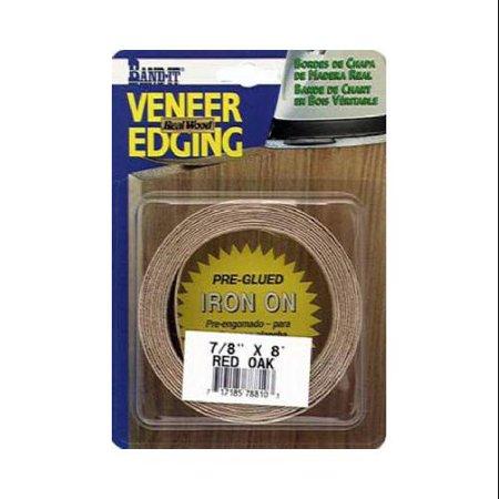 - Veneer Technologies 78810 Red Oak Real Wood Veneer Edgebanding, 7/8-Inch x 8-Ft. - Quantity 1