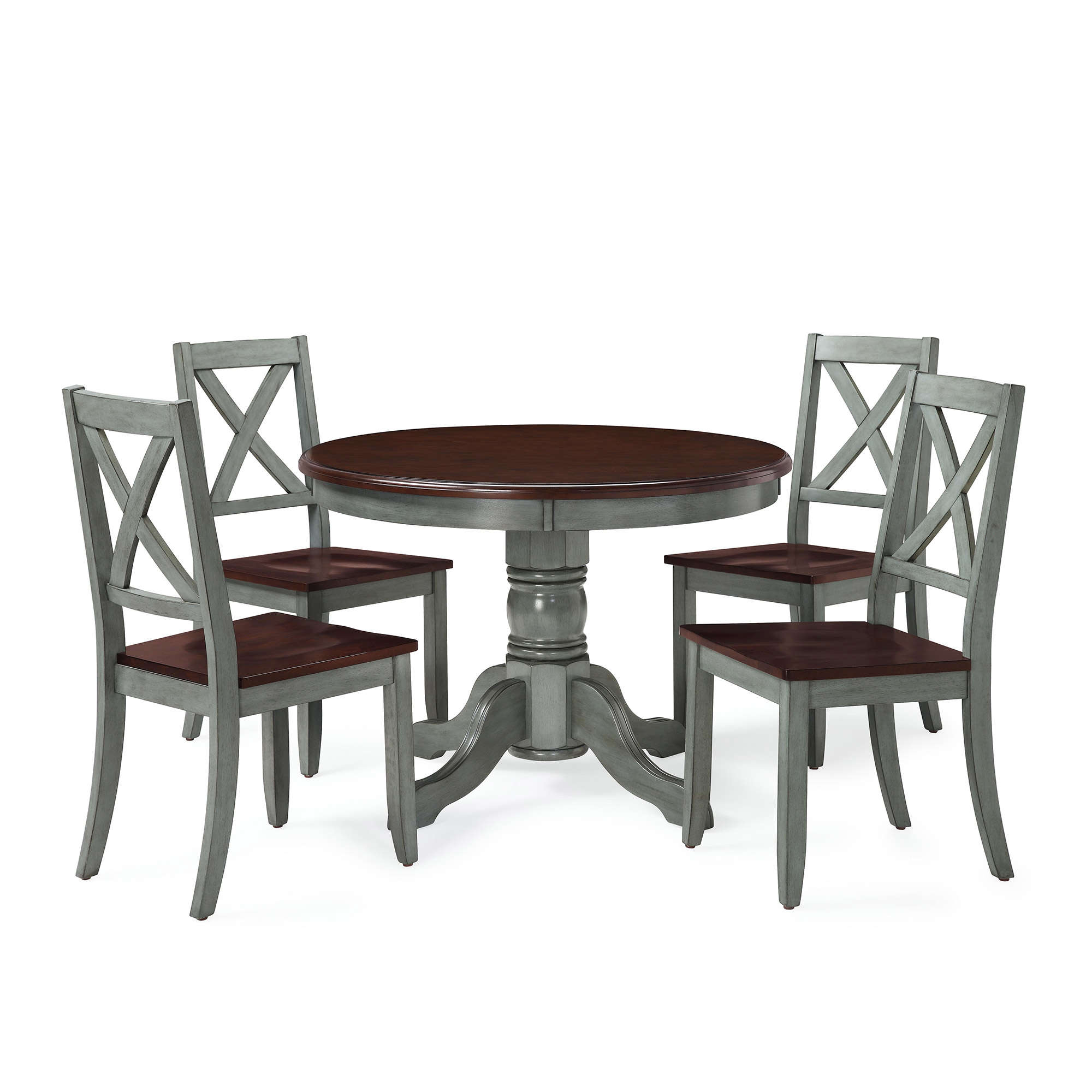 Better Homes and Gardens Cambridge Place Dining Table Blue  sc 1 st  Walmart & Round Kitchen Table Sets