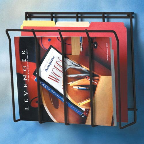 Wall Mount Wire Magazine Caddy