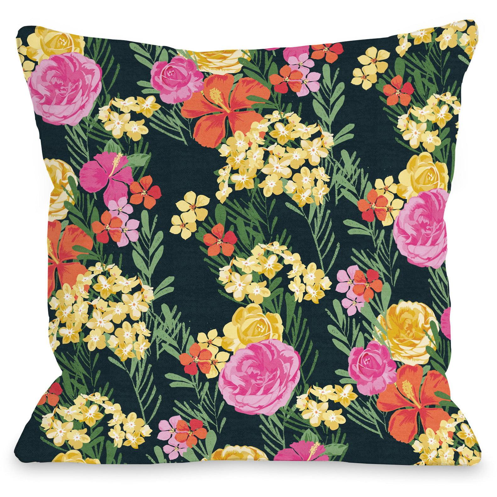 """Botanica"" Outdoor Throw Pillow by Jennifer Ellory, 20""x20"""