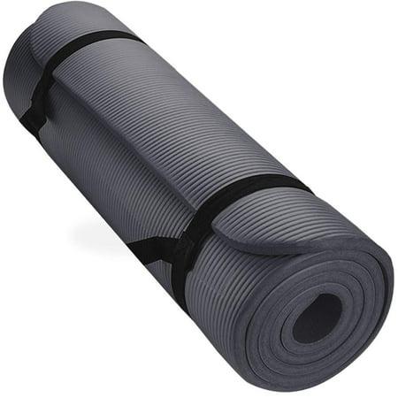 Aduro Sport Yoga Workout Mat 1 2 Inch Extra Thick Foam