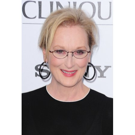 Meryl Streep At Arrivals For Ricki And The Flash Premiere Amc Loews Lincoln Square New York Ny August 3 2015 Photo By Gregorio T BinuyaEverett Collection Photo Print