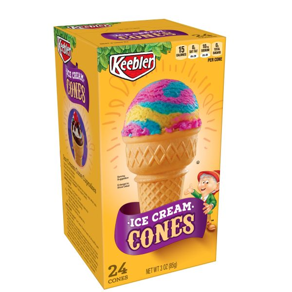 (3 Pack) Keebler Ice Cream Cups, 24 ct 3 Oz Box