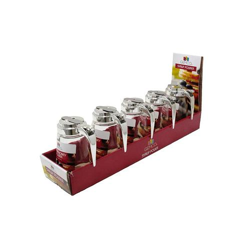 5088635- Glass Syrup Pourer