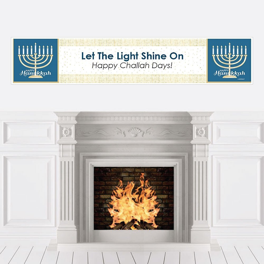 Happy Hanukkah - Chanukah Party Decorations Party Banner