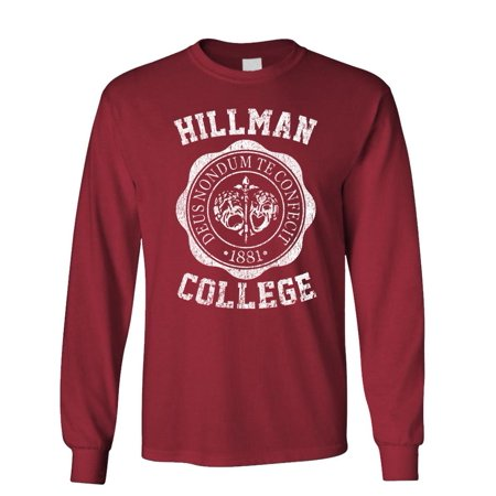 HILLMAN COLLEGE - retro 80s sitcom tv - Long Sleeved - 80s Long Sleeve