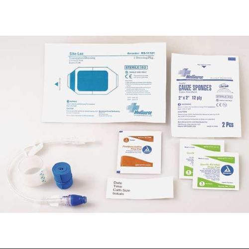 MEDSOURCE MS-80047 IV Start Kit,Clear/White,7-1/2inL,PK100 G9999552