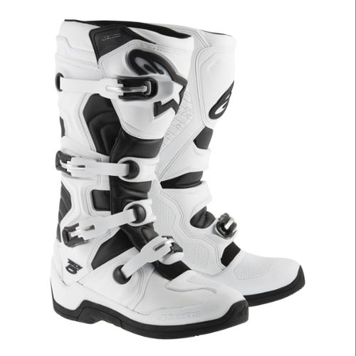 Alpinestars Tech 5 MX/Offroad Boots White/Black
