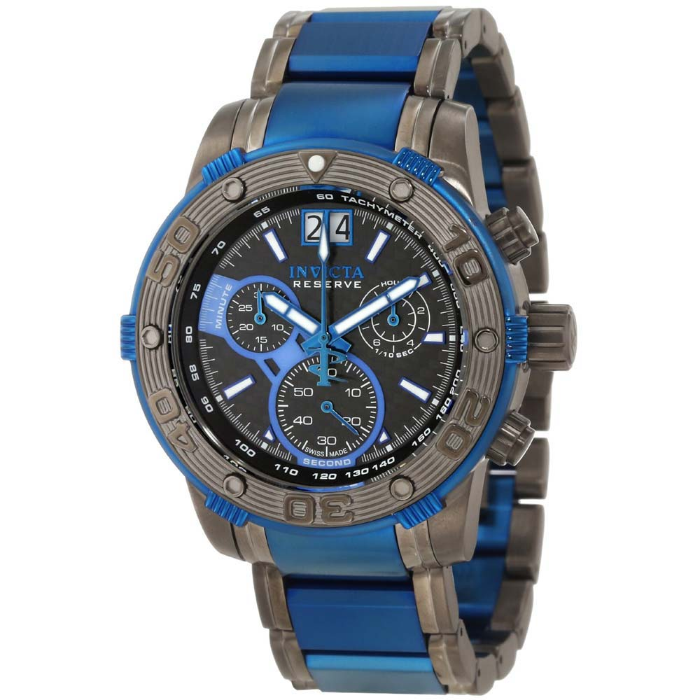 Invicta 10593 Men's Reserve Speedway Ocean Reef Two Tone ...