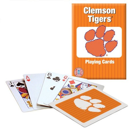 Officially Licensed NCAA Clemson Playing Cards