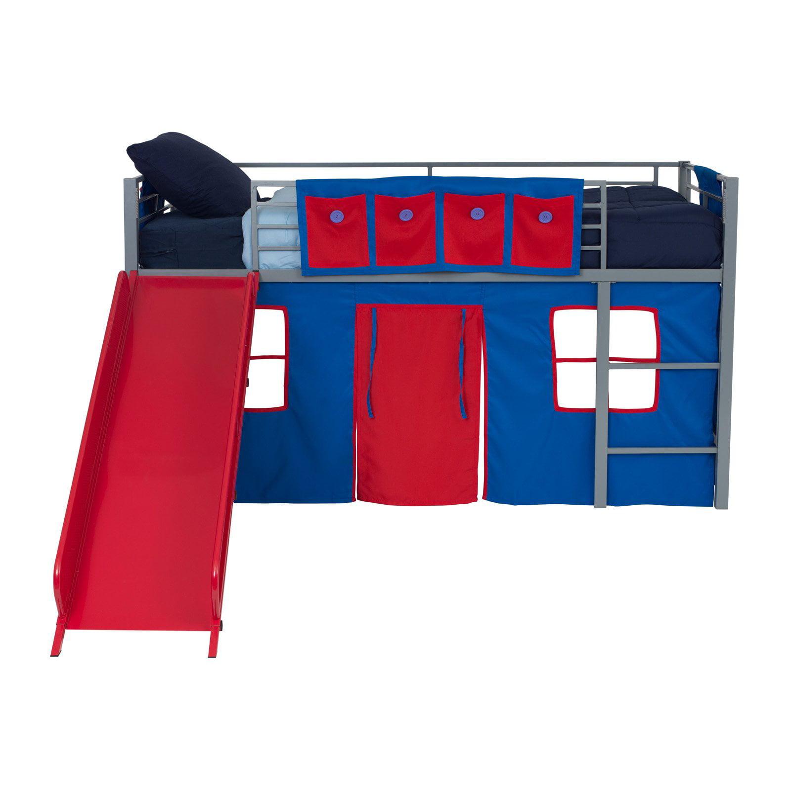 Dorel Home Junior Fantasy Loft with Red Slide