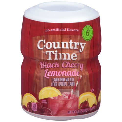 Country Time Black Cherry Lemonade Drink Mix, 18.3 oz