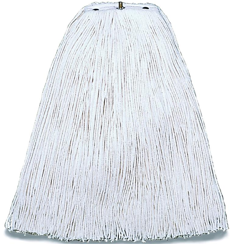 Pinnacle A504324 Cut End Non-Bacterial Resistant Mop Head, For Use With Pinnacle Handle, White