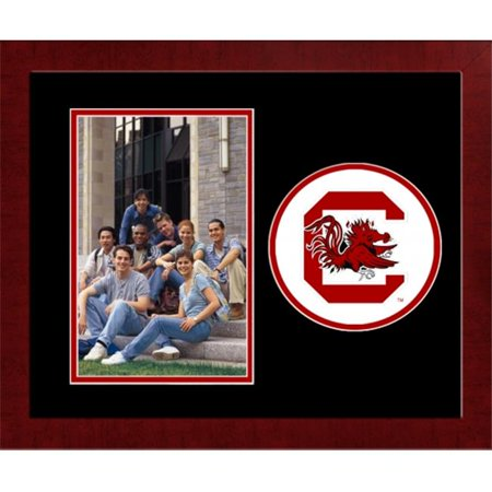 Campus Image Sc995slpfv University Of South Carolina Spirit Photo Frame   Vertical