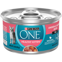 Cat Food: Purina ONE Healthy Kitten Formula Wet Food