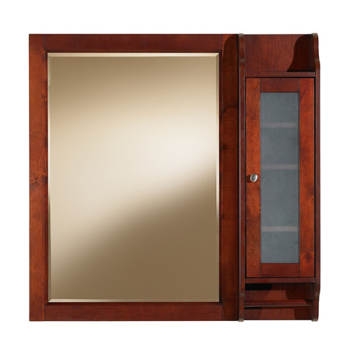 Luxe Bath Works Largo 36'' x 36'' Surface Mount Beveled Medicine Cabinet