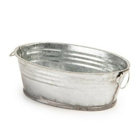 Galvanized Tub - 5 Inches - Small Galvanized Tub